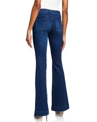 15cf54049c2a J Brand - Lovestory Low-rise Flare Jeans - Lyst