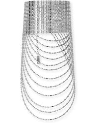 Auden - Leighton Layered Chain Collar Necklace - Lyst