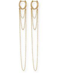 Jennifer Zeuner - Elmar Chain Drop Earrings - Lyst