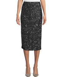 Lafayette 148 New York - Casey Shimmering Sequin Pencil Skirt - Lyst