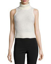 Rachel Zoe | Elodie Sleeveless Turtleneck Sweater | Lyst