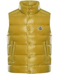 a7568e3a6114 Lyst - Moncler Tib Padded Gilet in Red for Men