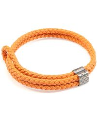 Bottega Veneta - Men's Woven Leather Bracelet - Lyst