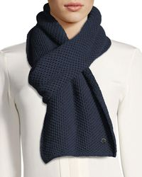 Loro Piana - Cashmere Rougemont Knit Scarf - Lyst
