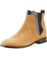 Pierre Hardy | Miss Drugstore Suede Ankle Boot | Lyst