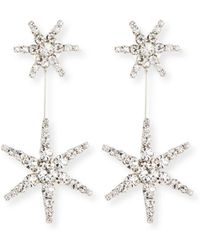 Jennifer Behr - Estee Crystal Star Earrings - Lyst