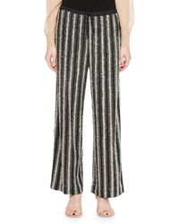 Dries Van Noten - Puvis Metallic Knit Pants - Lyst