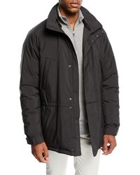 Loro Piana - Icer Wind Stretch Storm Coat - Lyst