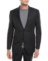 Ermenegildo Zegna - Men's Plaid Wool Two-piece Suit - Lyst