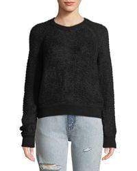 Rag & Bone - Brooke Wool-blend Crewneck Pullover Sweater - Lyst