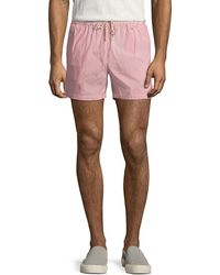 Loro Piana - Thousand Stripes Swim Trunks - Lyst