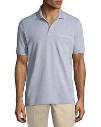 Loro Piana - 2-button Regatta Polo Shirt - Lyst
