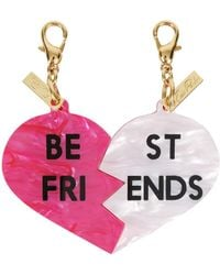 Edie Parker - Best Friends Bag Charms - Lyst