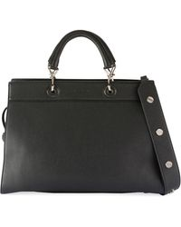 Altuzarra - Small Shadow Leather Tote Bag - Lyst
