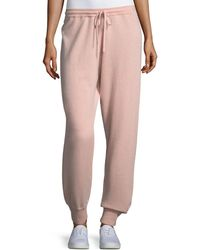 Theory - Cashmere Athletic-stripe Lounge Pants - Lyst