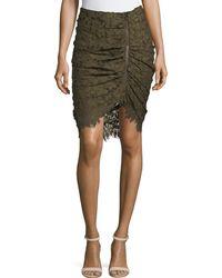 Veronica Beard - Noche Faux-wrap Pencil Skirt - Lyst