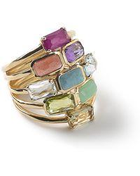 Ippolita - 18k Rock Candy Mosaic Cascade Ring - Lyst