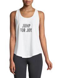 Kate Spade - Jump For Joy Performance Tank - Lyst