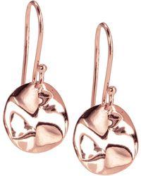 Ippolita - Mini Rose Wavy Disc Earrings - Lyst