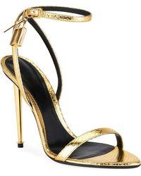 eba2993d70cf Lyst - Women s Tom Ford Stilettos and high heels On Sale
