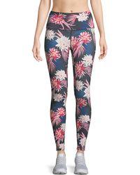 Spiritual Gangster | Tropics High Vibe Floral-print Leggings | Lyst
