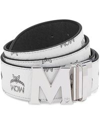 MCM - Women's Claus Medium Reversible Belt - Lyst