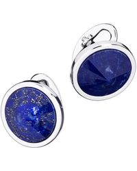 Jan Leslie - Pyramid Sphere Cuff Links With Lapis - Lyst