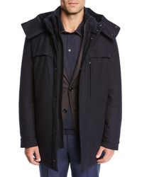 Ermenegildo Zegna - Men's Elements Trofeo Cashmere Coat - Lyst