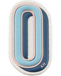 "Anya Hindmarch - O"" Leather Sticker For Handbag - Lyst"