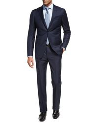 Ermenegildo Zegna - Trofeo® Wool Textured Two-piece Suit - Lyst