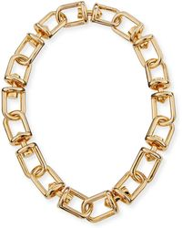 Eddie Borgo | Fame Link Necklace | Lyst