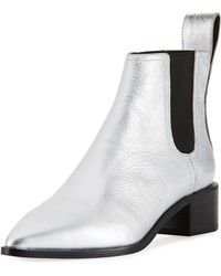 Loeffler Randall | Nellie Metallic Chelsea Boot | Lyst
