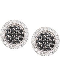 Jamie Wolf - Scallop Pave Black & White Diamond Earrings - Lyst
