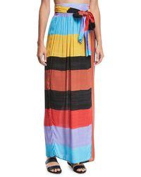 Mara Hoffman | Cora Sunglow Wrap Skirt | Lyst