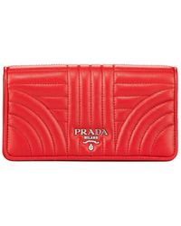 Prada - Quilted Crossbody Phonecase - Lyst