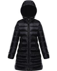 Moncler - Suyen Hooded Long Puffer Coat - Lyst