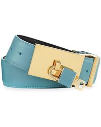 Buscemi - 100mm Padlock-buckle Leather Belt - Lyst