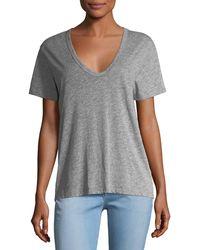 AG Jeans - Henson V-neck Short-sleeve Tee - Lyst