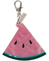 Edie Parker - Acrylic Watermelon Key Charm - Lyst