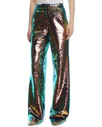 Libertine - Iridescent Sequined Pants - Lyst
