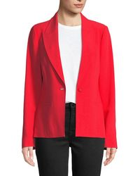 Tanya Taylor - Electra Crepe Single-button Blazer - Lyst
