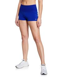 Alo Yoga - Aurora Ribbed Performance Shorts - Lyst