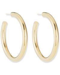 Jennifer Zeuner - Lou Medium Hoop Earrings - Lyst