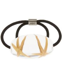 Colette Malouf - Star Fossil Ponytail Holder - Lyst