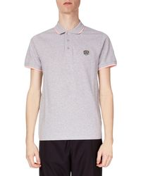 KENZO - Men's Fitted Tiger Crest Polo Shirt - Lyst