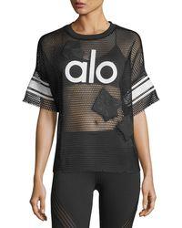 Alo Yoga | Yoga Jersey Short-sleeve Top | Lyst