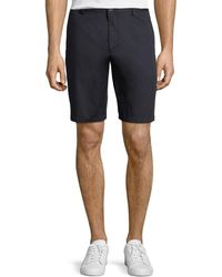 Burberry - Stanhope Straight-leg Twill Chino Shorts - Lyst