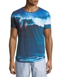"""Orlebar Brown - """"dropping In"""" Photographic-print T-shirt - Lyst"""