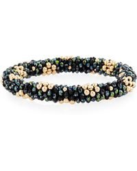 Meredith Frederick - Latika 14k Gold & Zircon Bracelet - Lyst