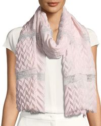Bindya - Pure Affection Wool-silk Stole - Lyst